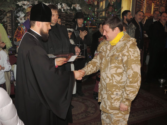 Приятель серця Орлик отримує нагороду за волонтерську діяльність